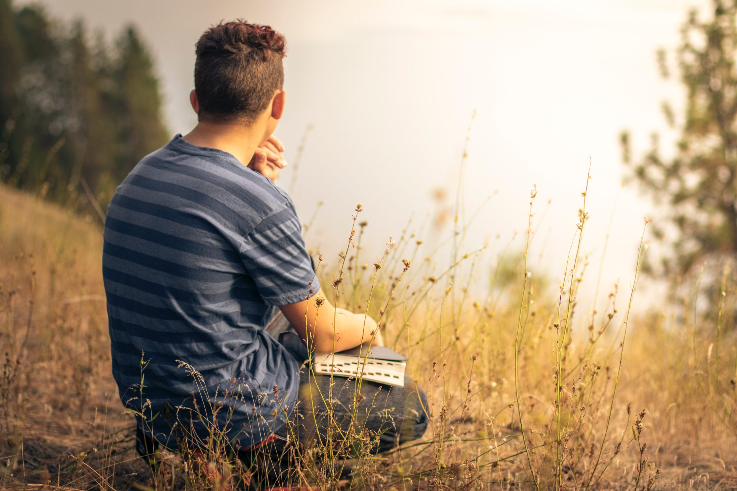 Man with Bible A Biblically Mastered Mind