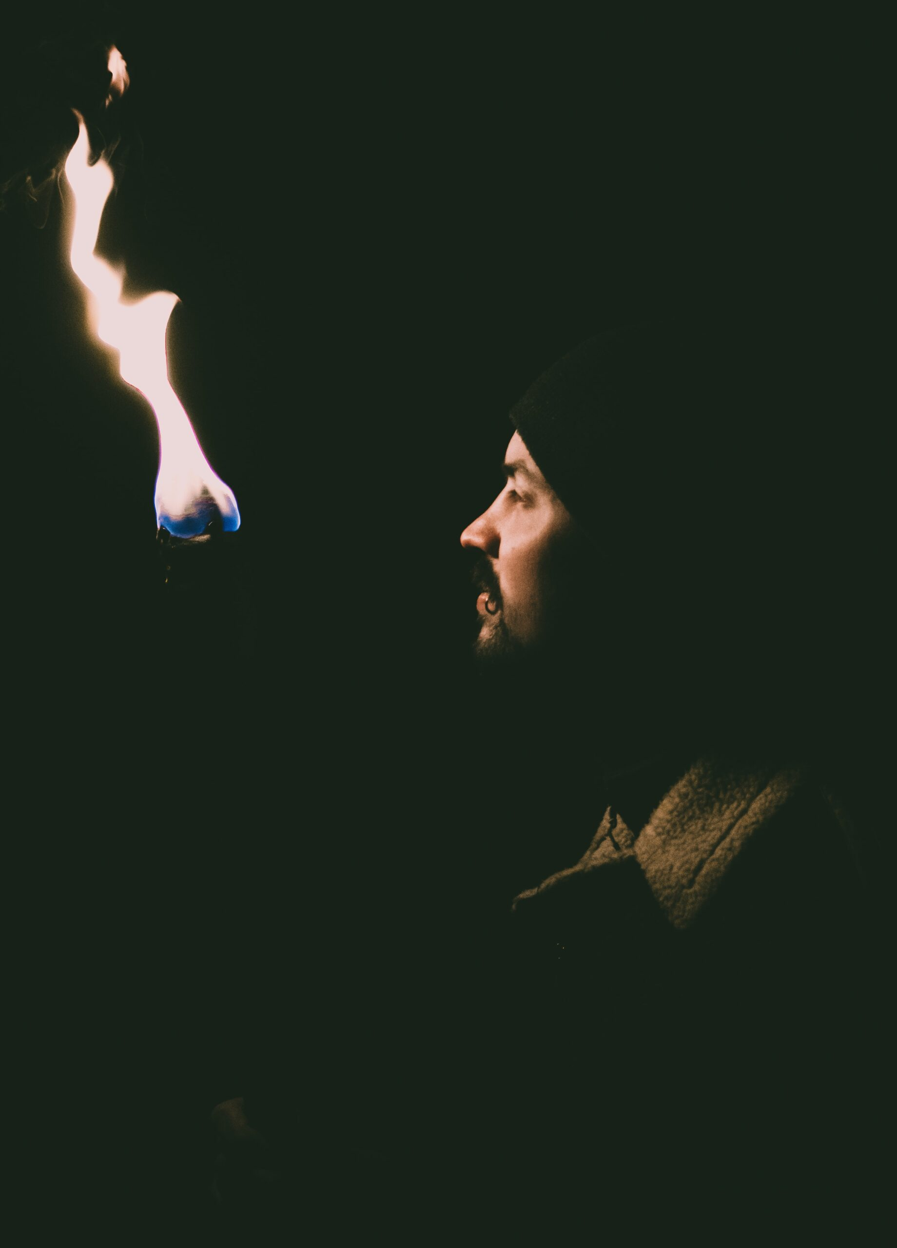 Man with torch The Bible Story of Gideon