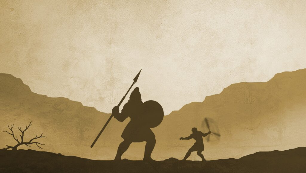 The Bible Story of David and Goliath